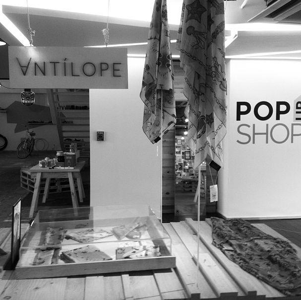 Antilope en Pop up shop Bogota