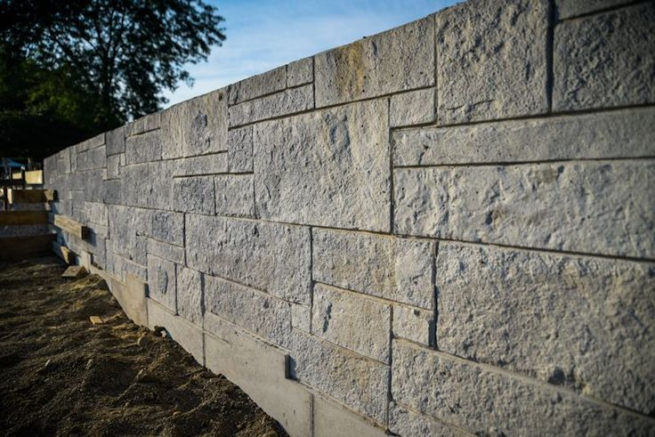 Don T Settle For Plain Gray Concrete Walls Use Walttools Form Wall Liners Concrete Wall Concrete Forms Stone Wall