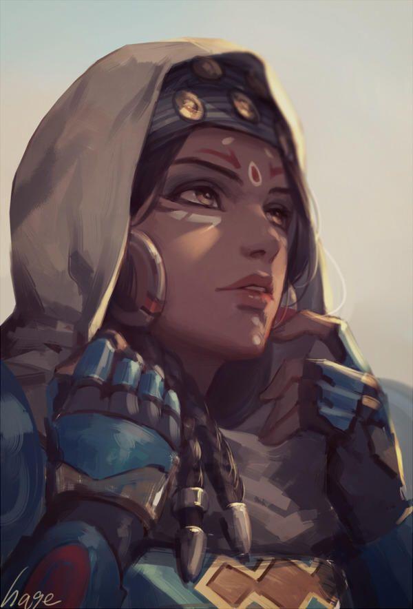 Overwatch - Pharah Bedouin Skin Fanart