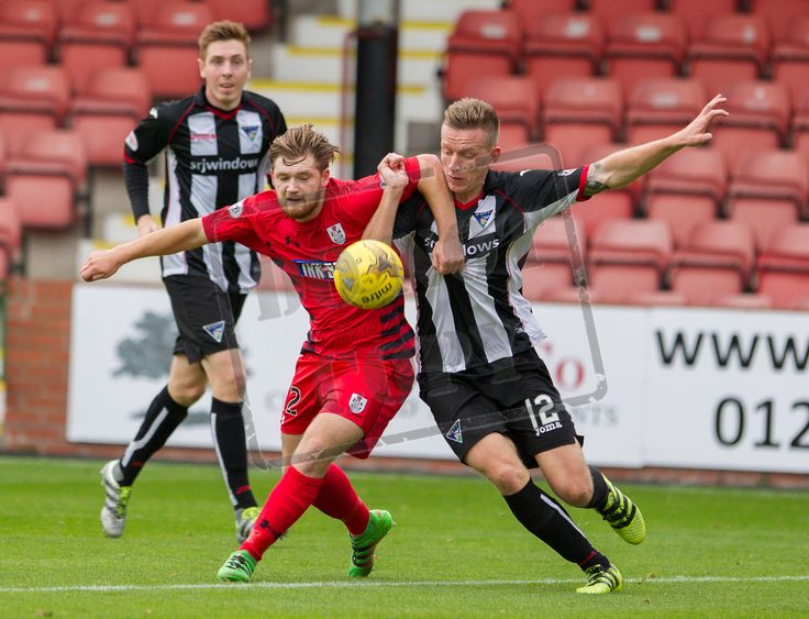 Queen's Park's Aiden Malone in action during the IRN-BRU Cup game between Dunfermline Athletic and Queen's Park.