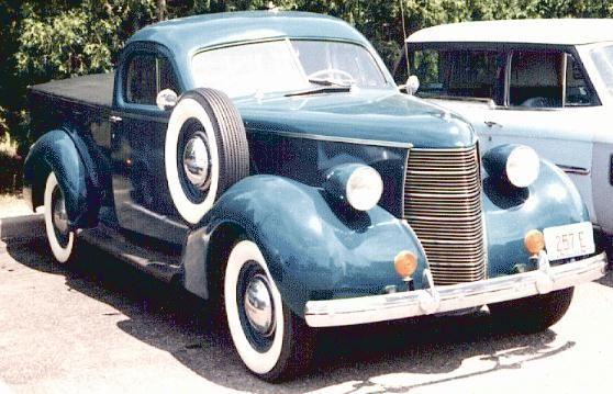 1938 Studebaker Coupe Express BO