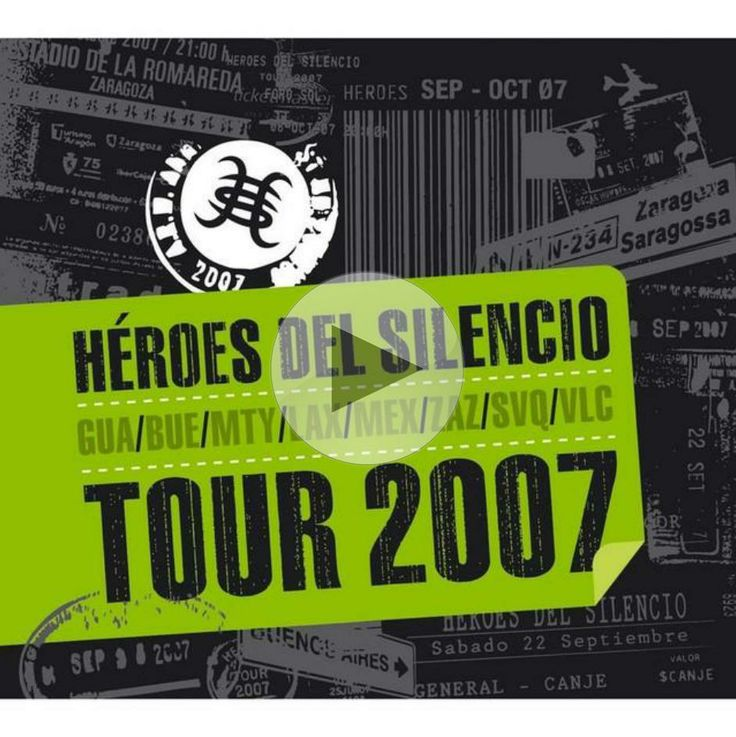 Listen to 'La Chispa Adecuada - Live' by Heroes Del Silencio from the album 'Tour 2007' on @Spotify thanks to @Pinstamatic - http://pinstamatic.com