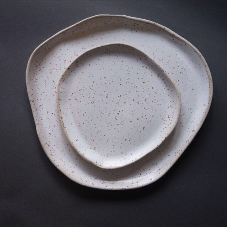 This speckled stoneware is slowly but steadily making it's way into my collection ☺️ at the moment just 2 size irregular plates, breakfast size bowls and the large shallow serving bowls. What do you think?  #speckled #white #bowl #plate #monochrome  #tableware #handmadetableware #handmade #minimalist #thegoodlife #makersgonamake #craft#craftsmanship #pottery #ceramics  #minimalism #seekthesimplicity #lifefolk #kinfolk #nordic #laimaceramics