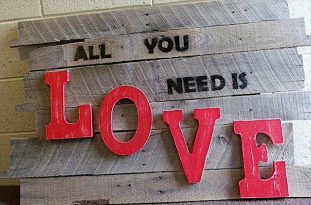 DIY Wall Art • Tips, Ideas & Projects! • Pallet Wall Art