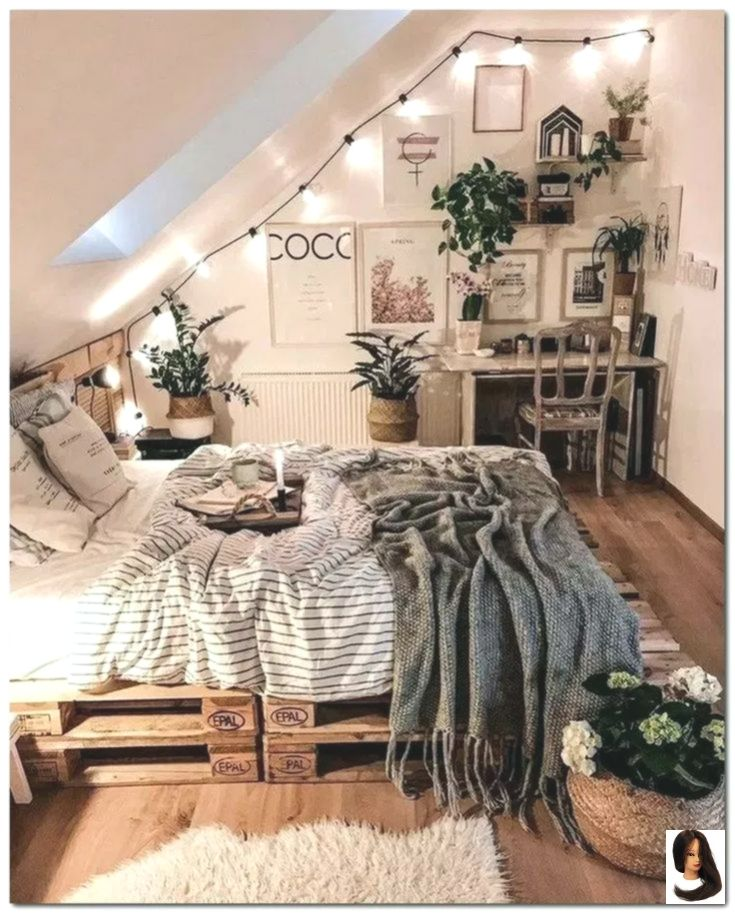 28 DIY Cozy Small Bedroom Einrichtungsideen zum kl…