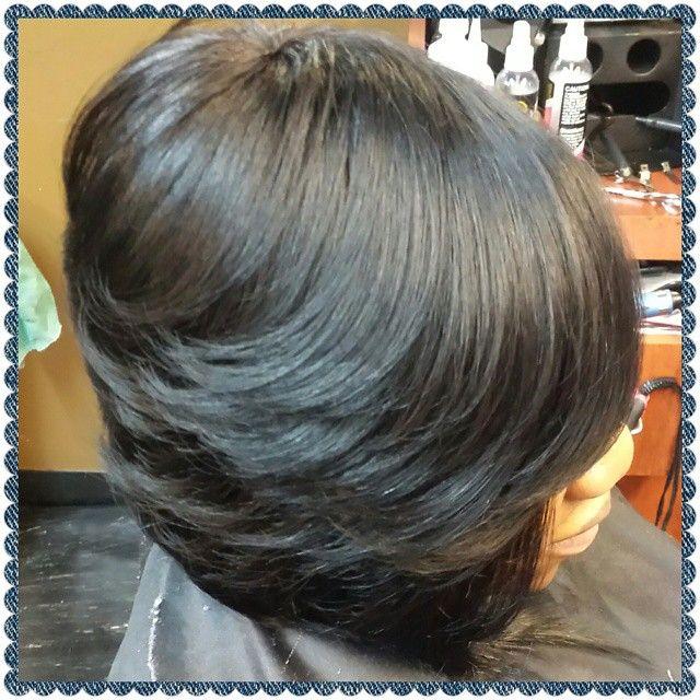 Bobn quick weave #favorbaby  #bobz #birminghamstylist  #birminghamsalons  #shoplifejunkie  #hair Appointments available call 7855051