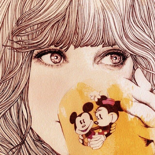 Wonderful illustrations by Ëlodie Nadreau