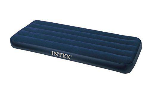 Intex 68950 Matelas Lit d'appoint 1 Place: Dimensions: 191 x 76 x 22 cm Nécessite des piles: Non Descriptif produit: Matelas gonflable 1…