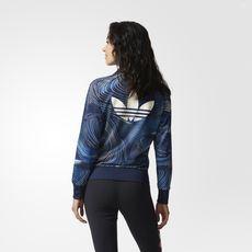 adidas - Blue Geology Firebird Track Jacket