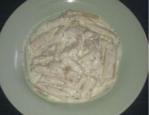 Schwarzwurzelsalat mit Dill-Senf Dressing - Rezept - ichkoche.at