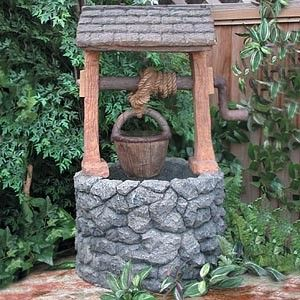 wishing well: display idea? Dig Into Reading/Beneath the Surface 2013