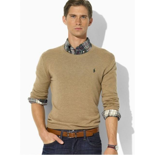 Welcome to our Ralph Lauren Outlet online store. Ralph Lauren Mens Round Neck  Sweater rl2181