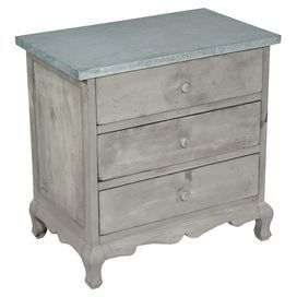 Jules 3-Drawer Chest