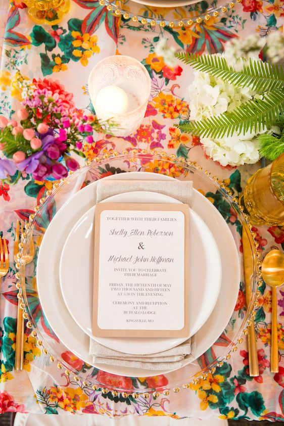 Daily Dose Of Color: Bright Spring Inspired Tabletop, Becca Blake Photography, Chappelow Events, Andrea K. Grist Floral Designs