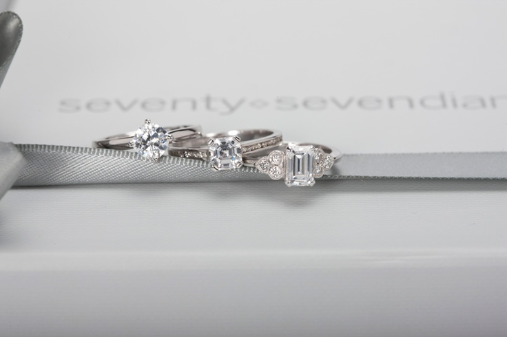 Spoilt for choice- #engagement ring collection form @77 Diamonds