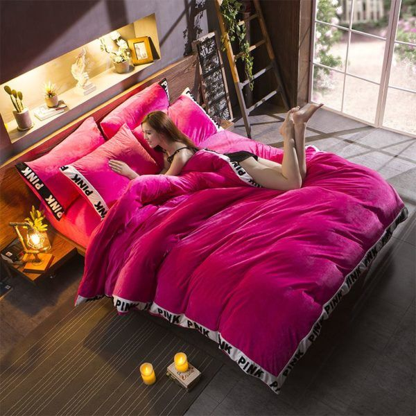 Victoria's Secret Bedding Sets | Buy Victoria's Secret Pink Bed