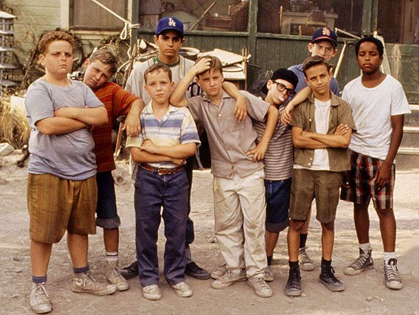 """You're killing me smalls""-The Sandlot."