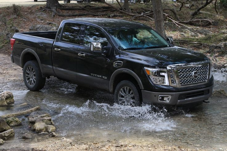 Always working hard, never hardly working. The Nissan TITAN XD combines outstanding towing and hauling capabilities with excellent ride comfort and handling.