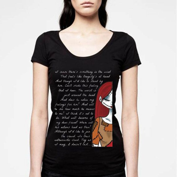 jack and sally  quote disney nightmare before by NewGalaxy on Etsy, $20.00
