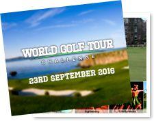 World Golf Tour Challenge departs 23 September 2016.