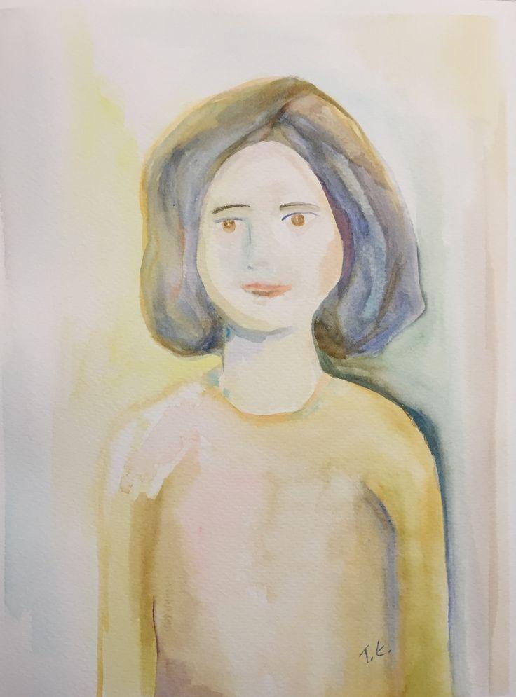 She - Watercolor 2015/10