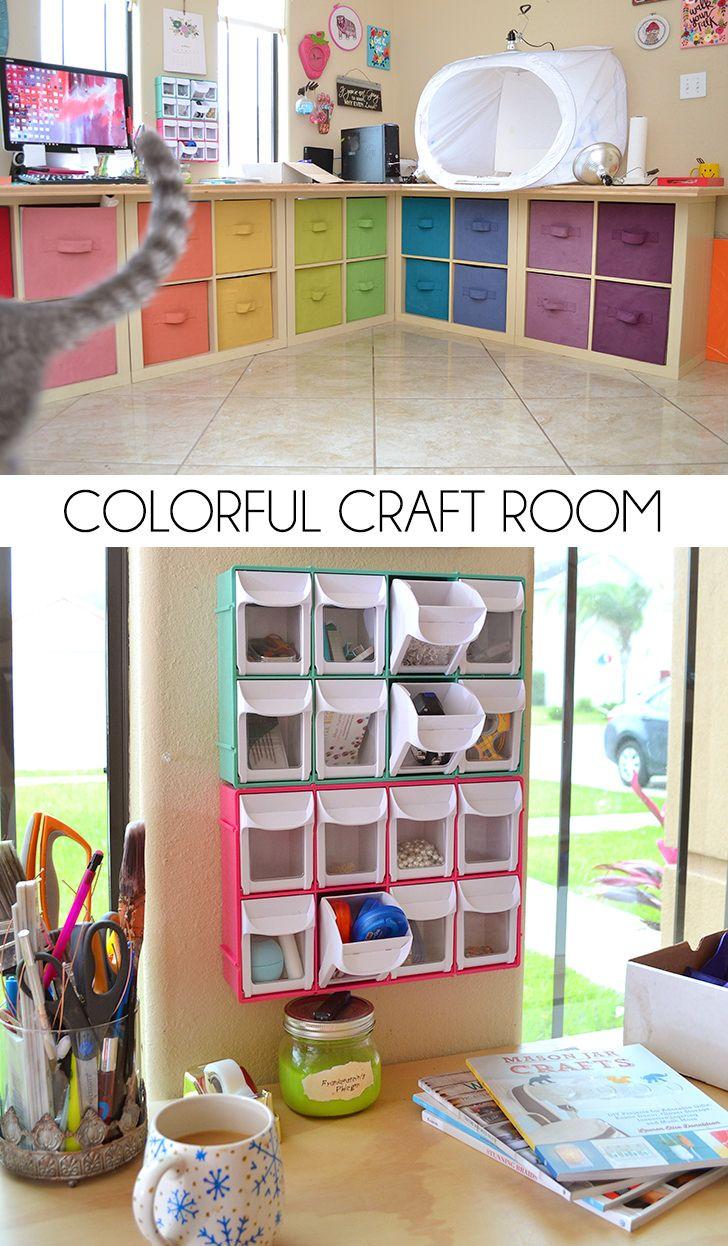 Craft room organization ideas - 25 Best Ideas About Craft Room Storage On Pinterest Craft Organization Craft Rooms And Craft Room Organizing