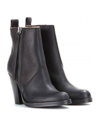 Colt Leather Ankle Boots www.sellektor.com