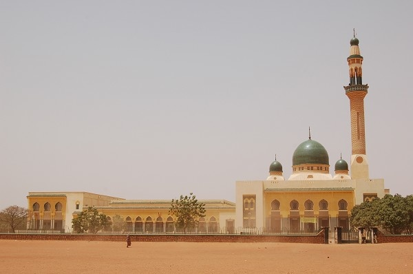 Niamey Niger Great Mosque. I climbed to the very top in 2008