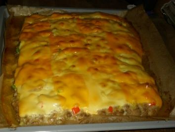 Rezept: Hauptgericht: Waldecker Hackfleischpizza Bild Nr. 2