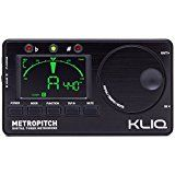 KLIQ MetroPitch - Metronome Tuner for All Instruments - with Guitar Bass Violin Ukulele and Chromatic Tuning Modes - Tone Generator - Carrying Pouch Included Blackby KLIQ Music Gear323% Sales Rank in Musical Instruments: 179 (was 758 yesterday)(312)Buy new: $49.00 $27.002 used & new from $22.46 (Visit the Movers & Shakers in Musical Instruments list for authoritative information on this product's current rank.)