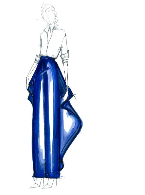 Wishing everyone a fancy New Year. I know some lucky lady is somewhere warm rocking some Rosie Assoulin. Lets face it, everything this lady designs is pretty darn cool. Cheers.  Fashion Illustration by Alessandra De Gregorio  and Design by Rosie Assoulin  #rosieassoulin #alessandradegregorio