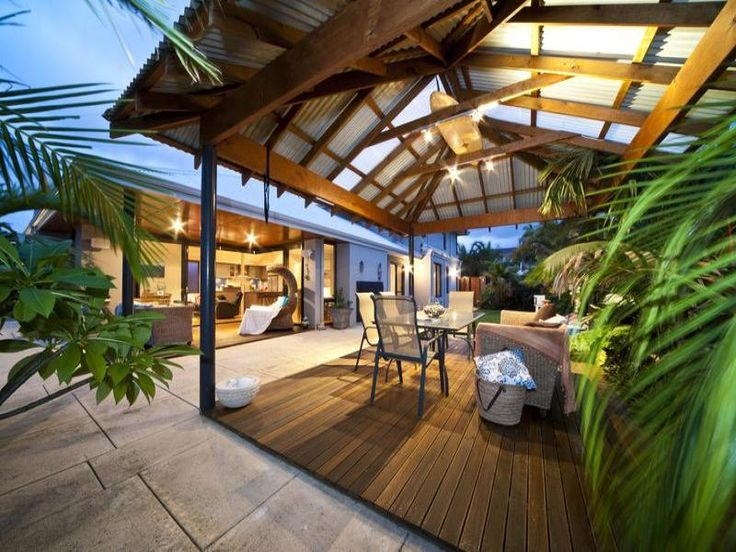 Outdoor living design with bbq area from a real Australian home - Outdoor Living photo 230793
