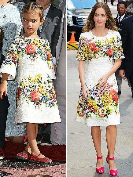 Matthew McConaughey's Daughter Vida Dolce & Gabbana Mini Me Style | Dashin Fashion