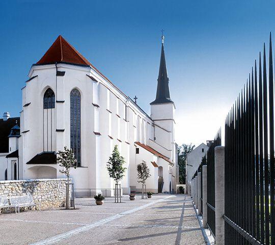 The church of The Preferment of The Holy Cross, Litomyšl (East Bohemia), Czechia
