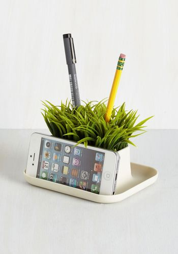 Lawn Your Marks Desk Organizer - From the Home Decor Discovery Community at www.DecoandBloom.com