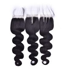 "44 Lace Top Closure 100% Brazilian Human Hair Extensions Body Wave 10"" http://ift.tt/2x7p3Xz"