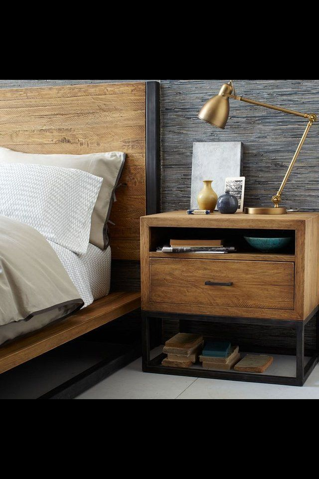 Definitely need to make this bed and side table. Very similar to the coffee table I made.