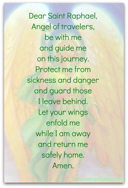 Archangel Raphael - Patron of Travellers