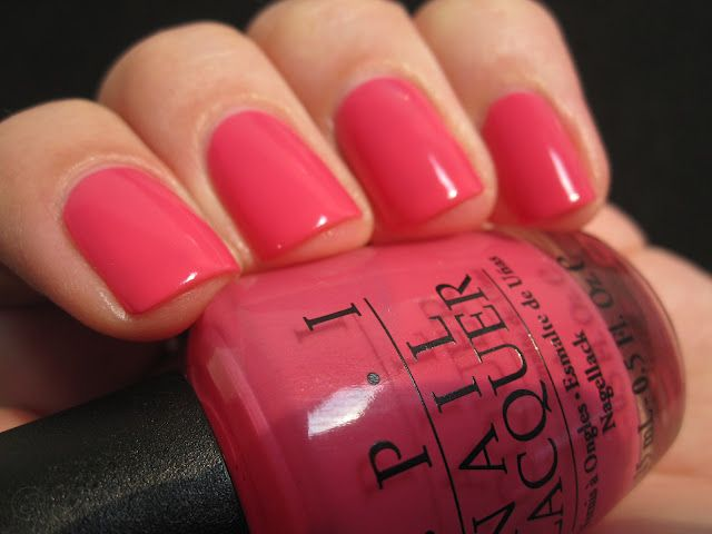 OPI - Strawberry Margarita. Have it on my finger and toe nails now! Definitely one of my OPI faves!!
