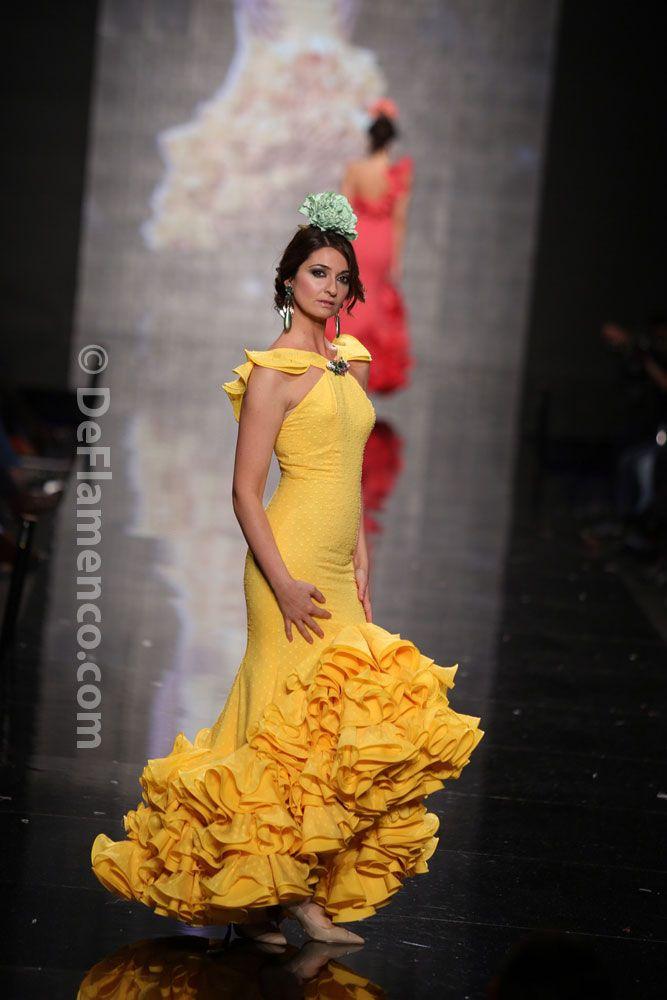 Fotografías Moda Flamenca - Simof 2014 - Sara de Benitez 'Flamên a portet' Simof…
