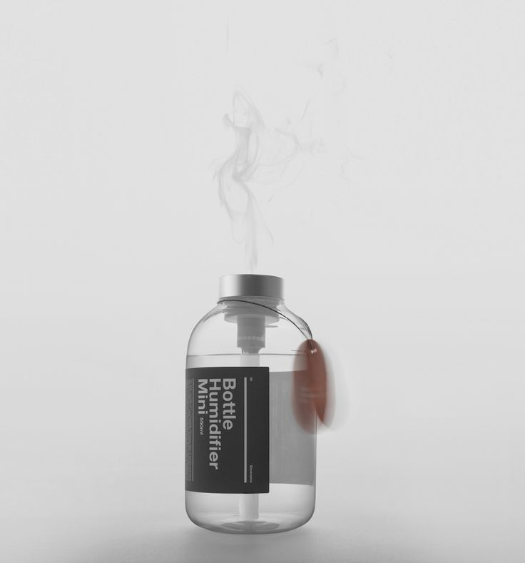 Bottle Humidifier Mini is a beautifully harmonious fusion of precision engineering with the prestige of 11+ design aesthetics.