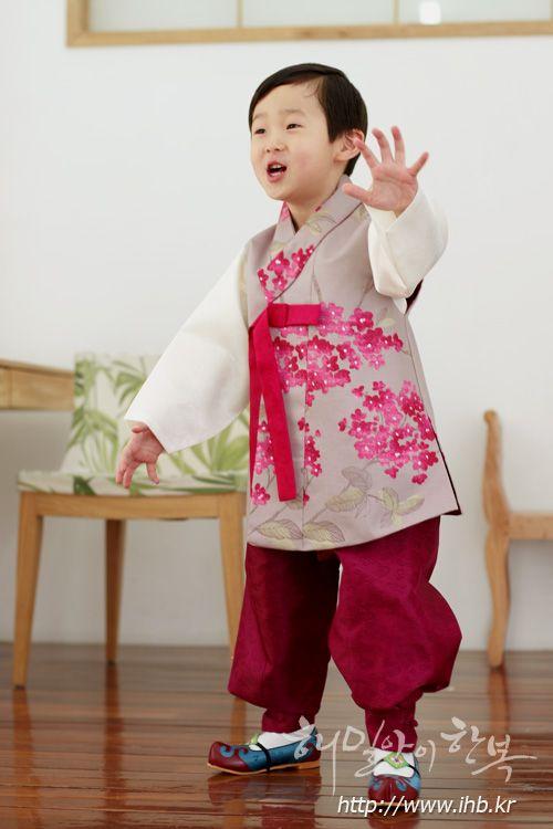 [[코튼] 긴배자-꽃담아보(LC-503)]