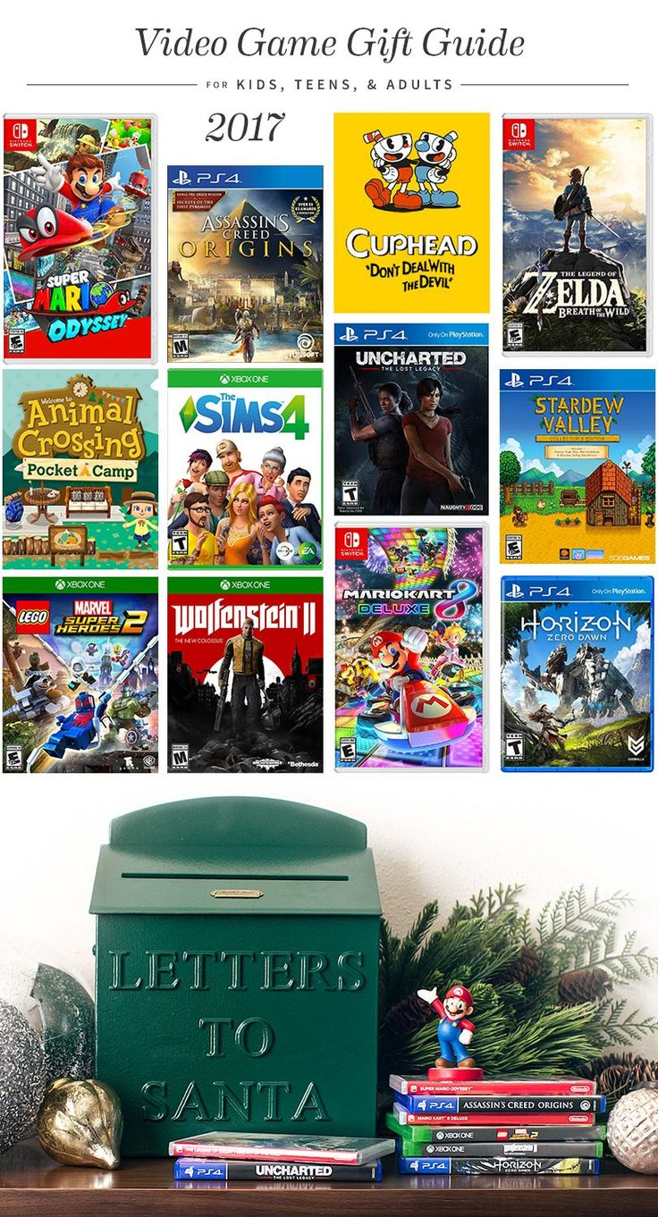 Your friendly nerdy blogger here offering up a guide to this years games for gifting!  The age distinctions are fluid so when I say & up I mean it. We enjoy a lot of the kids titles but you probably dont want to buy one of the violent games for littles or something thats going to be too difficult so thats how Brandon and I approached the categories.  Kids & Up  Mario Kart 8 Deluxe (Nintendo Switch  released Apr. 17) The game has a smart steering option so that you dont have to worry about…