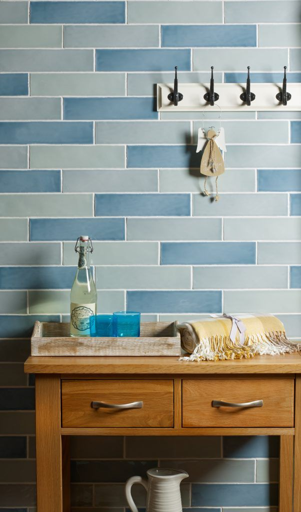 Modern Kitchen Duck Egg Blue Kitchen Wall Tiles Gallery Including