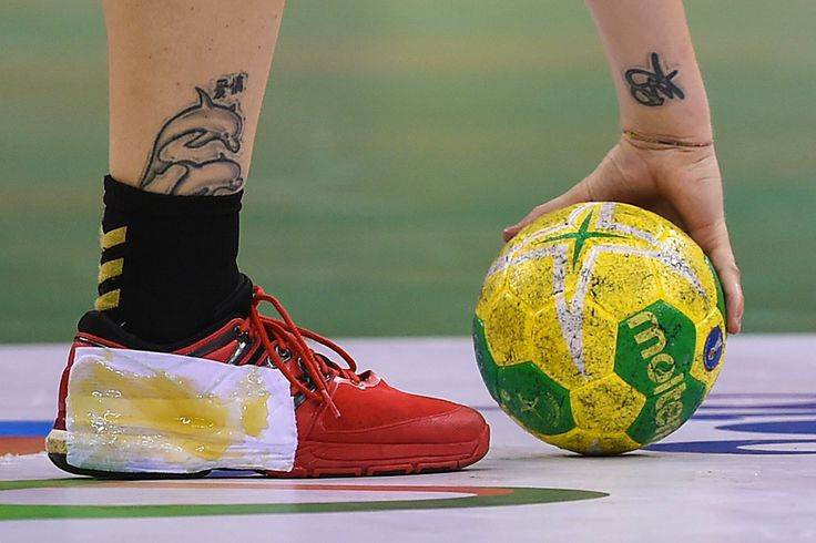 Women's handball : Rio Olympics 2016 images: Up close and personal