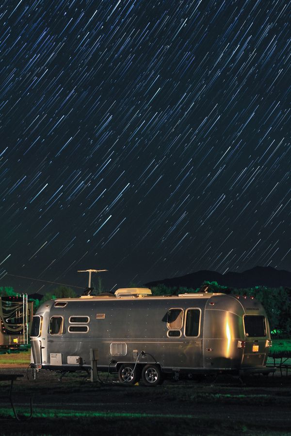 "Photo ""Airstream startrails"""