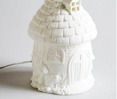 Fairy House Lamp @t