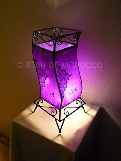 purple furniture accessories | Name: Agena Purple Lamp