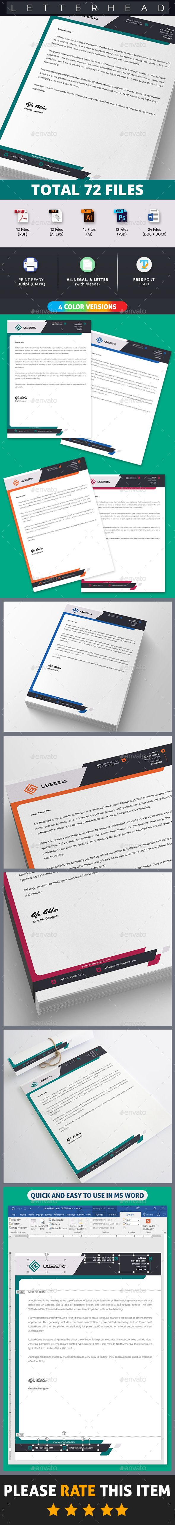8 best letterhead design images on pinterest letterhead template straight letterhead template stationery print design download here spiritdancerdesigns Choice Image