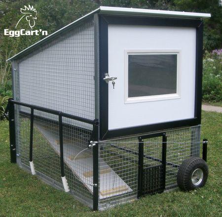 Egg Cart'n Chicken Coop